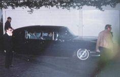 The Beatles leaving Elvis house in august 27 1965.