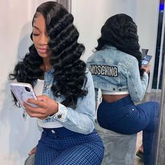 Beautiful hair wigs install Will you rock it?😍😍😍 Megalook hair deep wave lace frontal wigs Order it on our website at once The link of website 👉our bio Baddie Hairstyles, Braided Hairstyles, Black Girl Weave Hairstyles, Natural Protective Hairstyles, Quince Hairstyles, Relaxed Hairstyles, Black Wedding Hairstyles, Gray Hairstyles, 1950s Hairstyles