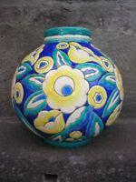 keramis vase boule Art deco