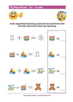 Mathe Rechenrätsel ZR 100 - Wie lautet die Lösung? Kostenloses ...