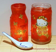 Chinese New Year Jar Lanterns- I want to do this