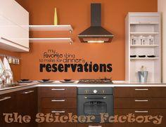 Mi pasatiempo favorito para cenar es reservas por TheStickerFactory