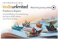Amazon Announces Kindle Unlimited Program