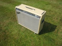Fender Twin Reverb Replica - hand wired, hand built Outdoor Furniture, Outdoor Decor, Outdoor Storage, Twin, Guitar, Building, Buildings, Twins, Backyard Furniture