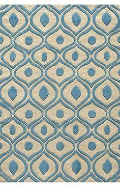 Momeni Bliss BS09 Blue Rug