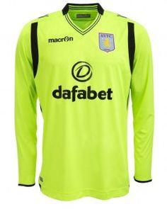 28a321d709ca7 AVFC Away Goalkeeper Shirt 2014 2015 Aston Villa Kit