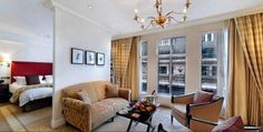 Enjoy splendid luxury hotel with delightful fine furnishings Room @ The Langham London