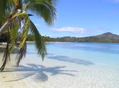 Another place I would like to go...Fiji, I can see myself sinking my toes in the sand right now.