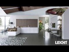 PUR-FS | TOPOS › Laque › Style contemporain › Cuisines › Cuisines | LEICHT – Cuisines aménagées de marque de LEICHT Küchen AG