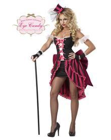 Parisian Showgirl Adult Women's Plus Size Costume
