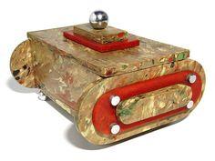 Deco Galalith Trinkets Box, 1930s by galessa's plastics, via Flickr