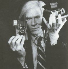 Andy Warhol, 1978. Photograph by Christopher Makos.