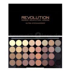 Die ULTRA 32 FLAWLESS MATTE Lidschatten Palette komplementiert die erfolgreichen MATTE Paletten von Makeup Revolution - mit 32 neuen und sehr hoc