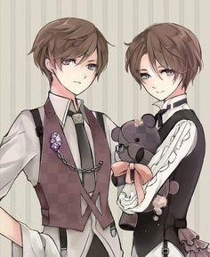 Image in Manga & anime collection by Maya on We Heart It Anime Boys, Manga Anime, Anime Siblings, Anime Child, Cute Anime Guys, Manga Boy, Hetalia, Anime Kawaii, Bebe Anime