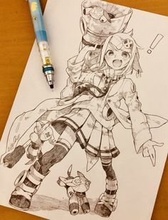 Anime Drawings Sketches, Anime Sketch, Cute Drawings, Anime Art Girl, Manga Art, Art Reference Poses, Character Drawing, Character Design Inspiration, Art Sketchbook