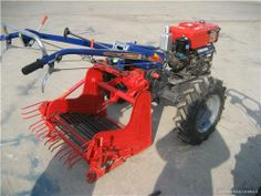 single row potato harvester for walking tractor (4u-1a) - China harvester, tm