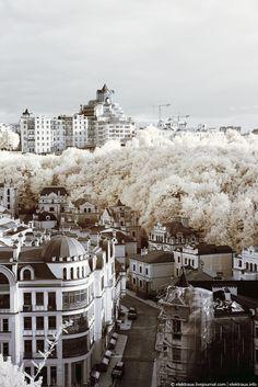 Kiev in infrared
