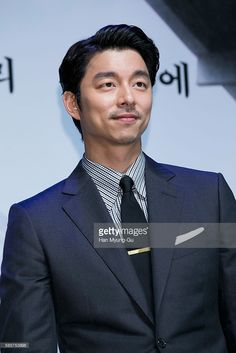 South Korean actor Gong Yoo attends the press conference for 'The Age Of Shadows' at CGV on August 4, 2016 in Seoul, South Korea. The film will open on September in South Korea.