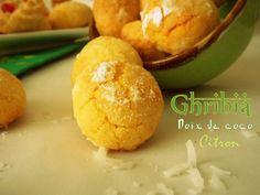 Ghribia a la noix de coco / Gateau sec algerien