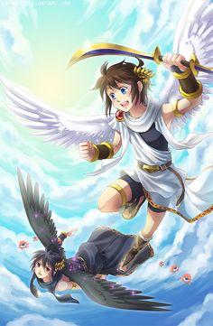 Kid Icarus Uprising by Lo-wah.deviantart.com