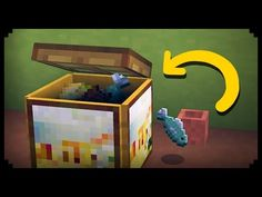 ✔ Minecraft: How to make a Working Trash Can - YouTube