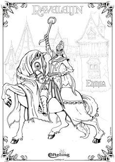 Krijgers Kleurplaat Roodkapje Van Sprookjesboom Efteling Kleurplaat