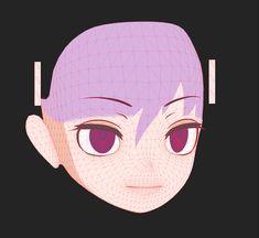 Quappa-El(@quappael)さん | Twitter Character Modeling, 3d Character, 3d Max, Unity, Anatomy, Mesh, Twitter, Design