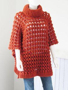 Elise Poncho - Free Pattern at Crochet Dreamz Bag Crochet, Crochet Fabric, All Free Crochet, Crochet Clothes, Knit Crochet, Crochet Vests, Crochet Sweaters, Unique Crochet, Crochet Stitch