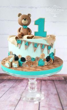 /0/ Vintage Teddy Bear :-) by Joanna Pyda Cake Studio  Pinterest | https://pinterest.com/iminlovewiththekitchen/