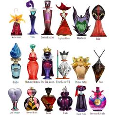 Disney Villains Perfume shared by Dolly D on We Heart It Evil Disney, Disney Marvel, Disney Magic, Arte Disney, Disney Art, Disney Villains Art, Disney Style, Disney Love, Disney And Dreamworks