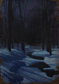 """Night River"" 