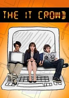 """The IT Crowd"" TV Show on The BBC (2006 - Present) --- In the age-old clash of IT vs. the corporation, a pair of basement-dwelling dweebs, Roy (Chris O'Dowd) and Moss (Richard Ayoade), square off against their cloddish owner-come-lately, with their ambitious but tech-illiterate manager, Jen (Katherine Parkinson), running interference."