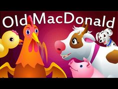 Old MacDonald Had a Farm Nursery Rhyme with Lyrics - Popular Nursery Rhymes and Songs for Children Nursery Poem, Farm Nursery, Kids Nursery Rhymes, Rhymes For Kids, Farm Songs, Farm Unit, Music For Kids, Kids Shows, Baby Time