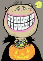 Halloween Candy for Kids with Braces