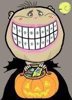Halloween Candy for Kids with Braces  #hatcherorthodontics