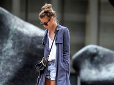 Ideas to style your denim cut-offs