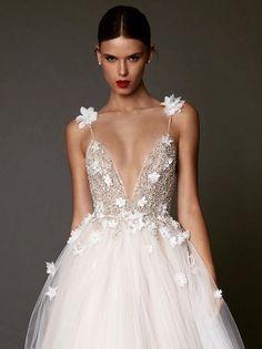 Berta wedding dress  butterflies