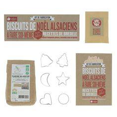 Kit de fabrication biscuit de Noël - Tout pour réaliser vos biscuits alsaciens ! - 19,95 €