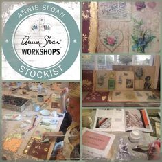 Our next Annie Sloan Techniques 2 Workshop is scheduled for Sunday November 23rd. 2pm - 5.30pm. Phone the shop on 01492 338547 to book a place.