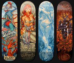 ELAN Skateboard Decks