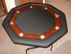 PokerWeb - Build an Octagon Poker Table
