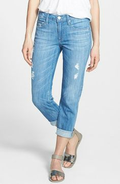 Vince 'Mason' Relaxed Rolled Jeans available at #Nordstrom