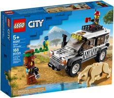 Shop LEGO City Safari Off-Roader 60267 at Best Buy. Shop Lego, Buy Lego, Lego Lego, Legos, Tree Costume, Lego Boxes, Lego City Sets, Wild Animals Photos, Safari Adventure