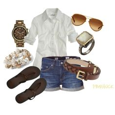 Neutral Summer, created by pbmhuck.polyvore.com