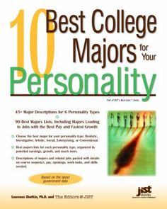 This helps you choose a college major that fits your personality, not just one that will get you a money-making career
