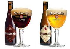 Trappiste de Westmalle brune ou blonde ? Je prends les 2 :o) ! Encore une bière belge de renom ! http://www.trappistwestmalle.be/