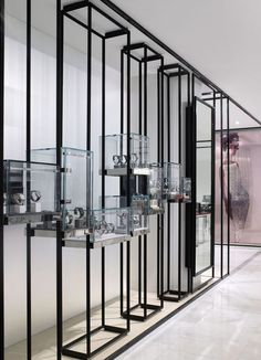 Jewellery retail store front and window display design retail store design, Retail Interior Design, Showroom Design, Retail Store Design, Best Interior Design, Retail Stores, Interior Shop, Design Shop, Jewelry Store Design, Window Display Design