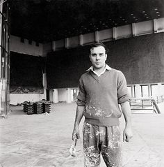 Yves Klein, Painter, Dreamer, Maker - Do you happen to have a shade of blue named after you? Aw, shut up then...