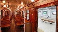 Uno de los vagones declarado Patrimonio Cultural del Ciudad