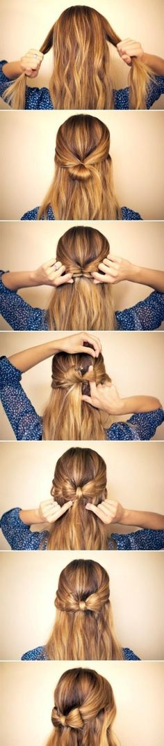 Easy, cute hairstyle~